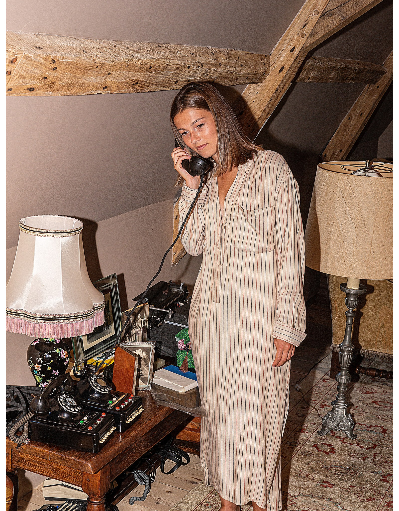 Dorélit Dione Maxi | Nightdress | Beige