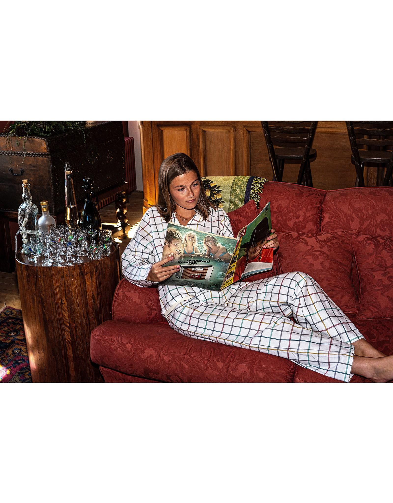 Dorélit Deline + Alkes | Pajama Set Woven | Check Multi