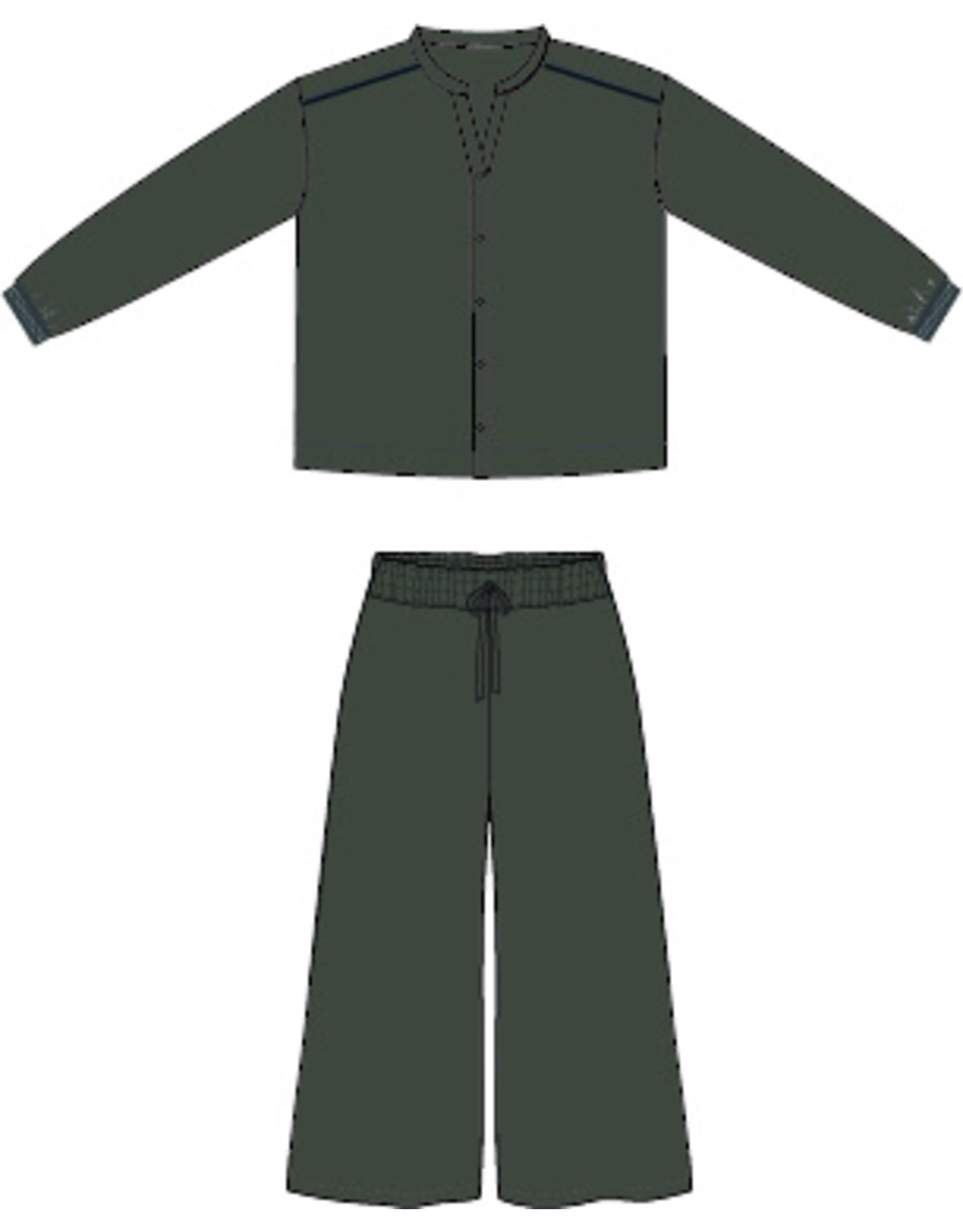 Dorélit Diane + Alkes | Pajama Set Woven | Black