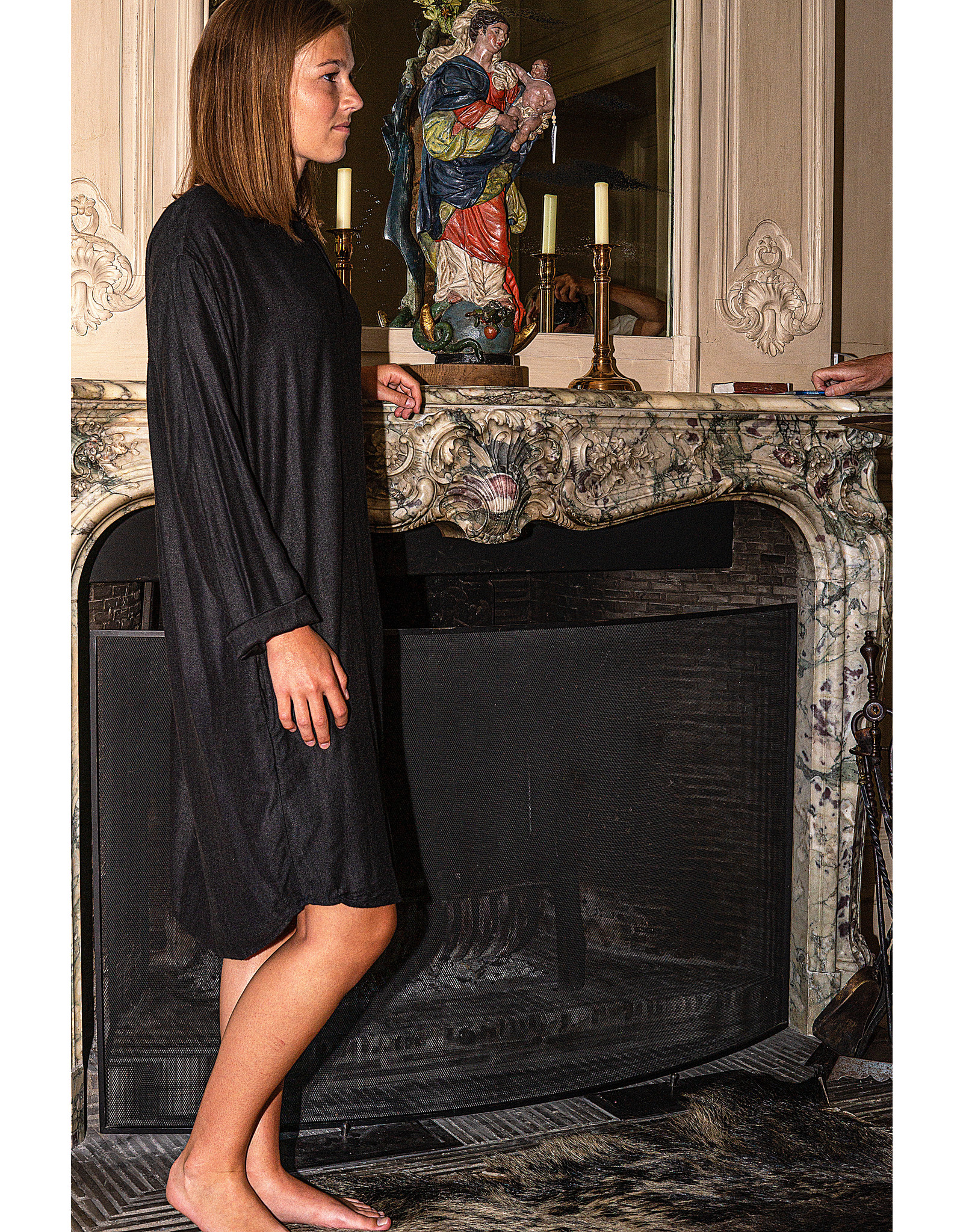 Dorélit Demi | Nightdress | Black