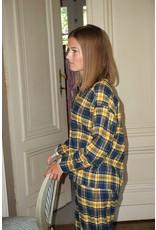 Dorélit Diane + Alkes | Pajama Set Woven | Check Navy