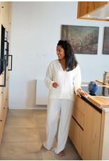 Dorélit Diane + Alkes | Pajama Set woven | Offwhite