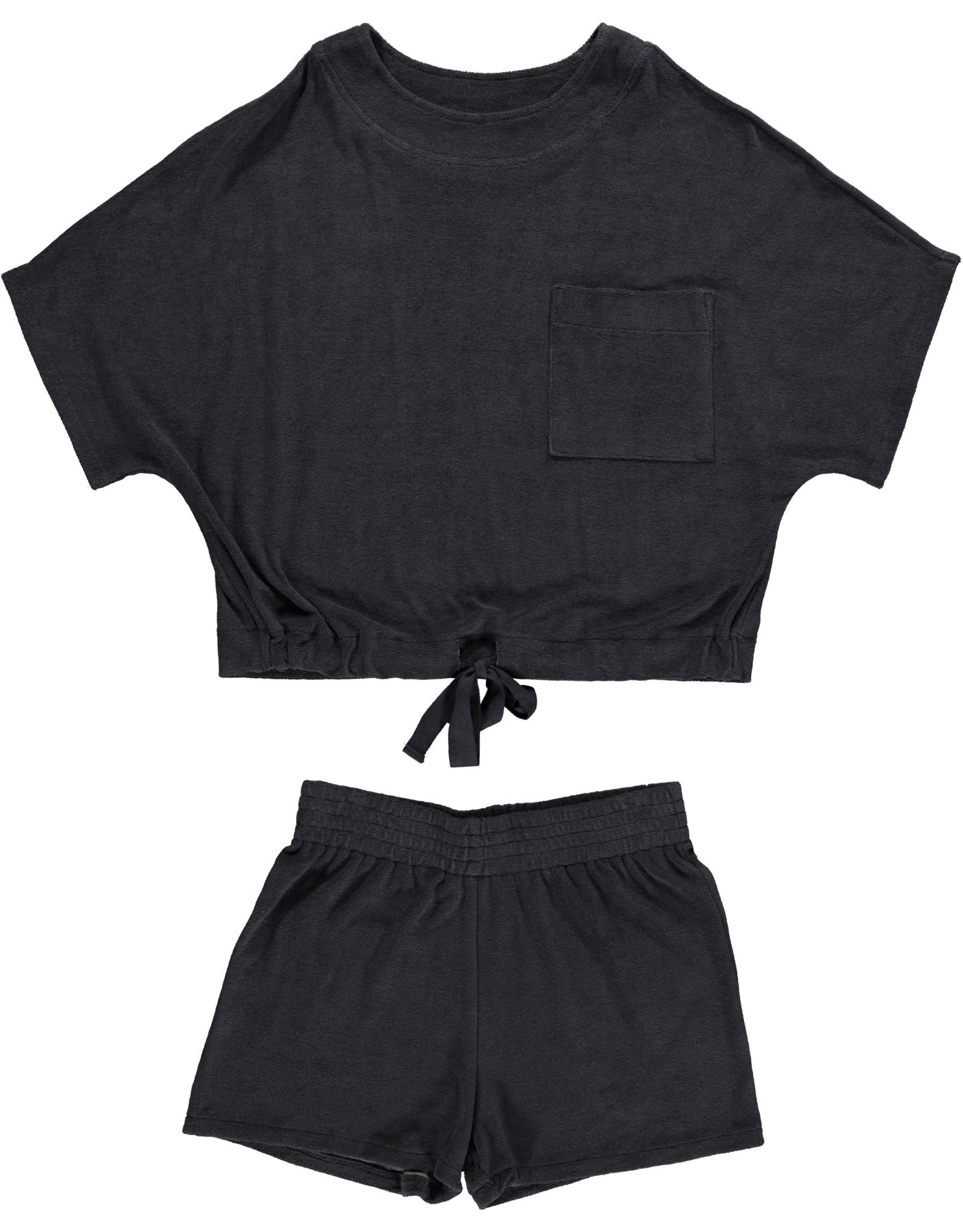 Dorélit Emita + Embla | Pajama Set Terry | Navy