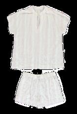 Dorélit Edna + Cupido | Pajama Set Woven | Stripe Multi