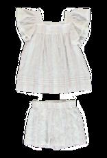 Dorélit Elodie + Cupido | Pajama Set Woven | Stripe Multi