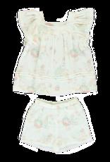 Dorélit Elodie + Eva | Pajama Set Woven | Print Gauze