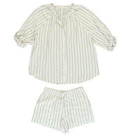 Dorélit Elly + Cupido | Pajama Set Woven | Stripe Viscose