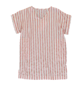 Dorélit Evelyn | Nightdress | Stripe Raspberry