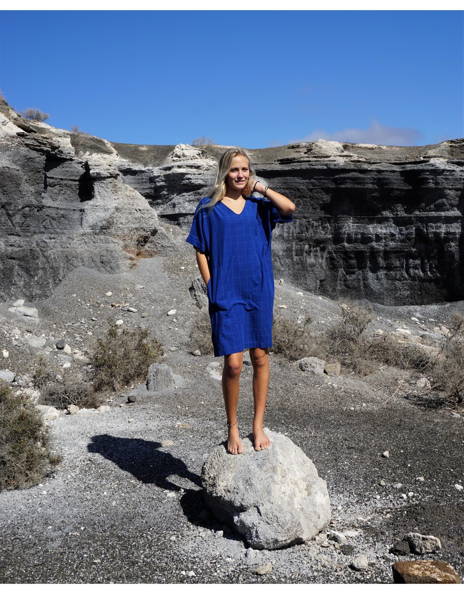 Dorélit Evelyn | Nightdress | Check Blue