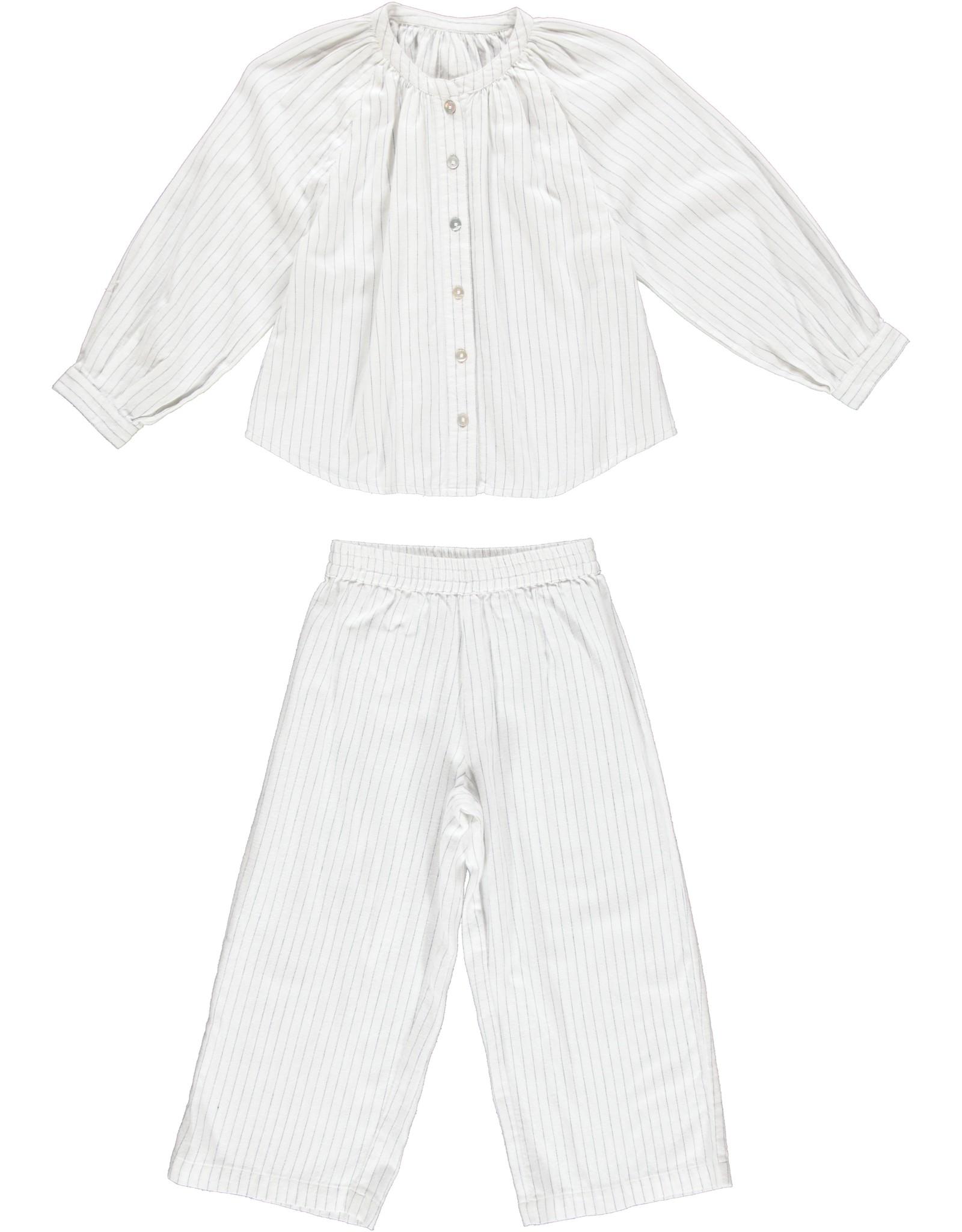 Dorélit Fynn + Alkes | Pajama Set Woven | Pin Stripe