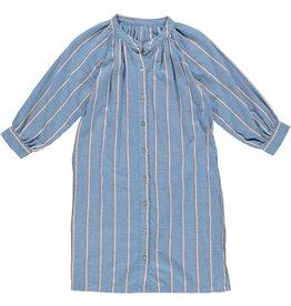 Dorélit Fai | Nightdress | Stripe Blue