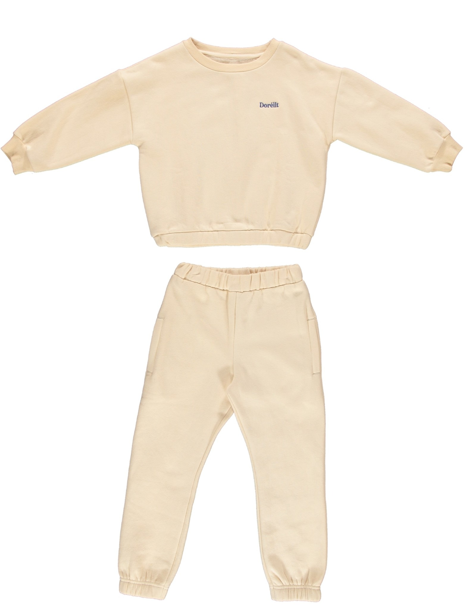 Dorélit Freya + Felix   Pajama Set Fleece   Offwhite