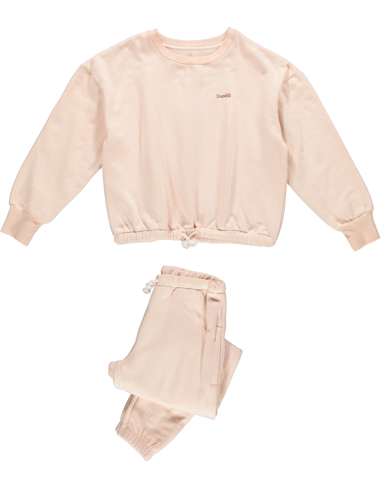Dorélit Freya + Felix   Pajama Set Fleece   Rose