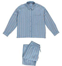 Dorélit Filia + Alkes | Pajama Set Woven | Stripe Blue
