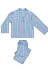Dorélit Femia + Alkes | Pajama Set Woven | Stripe Blue