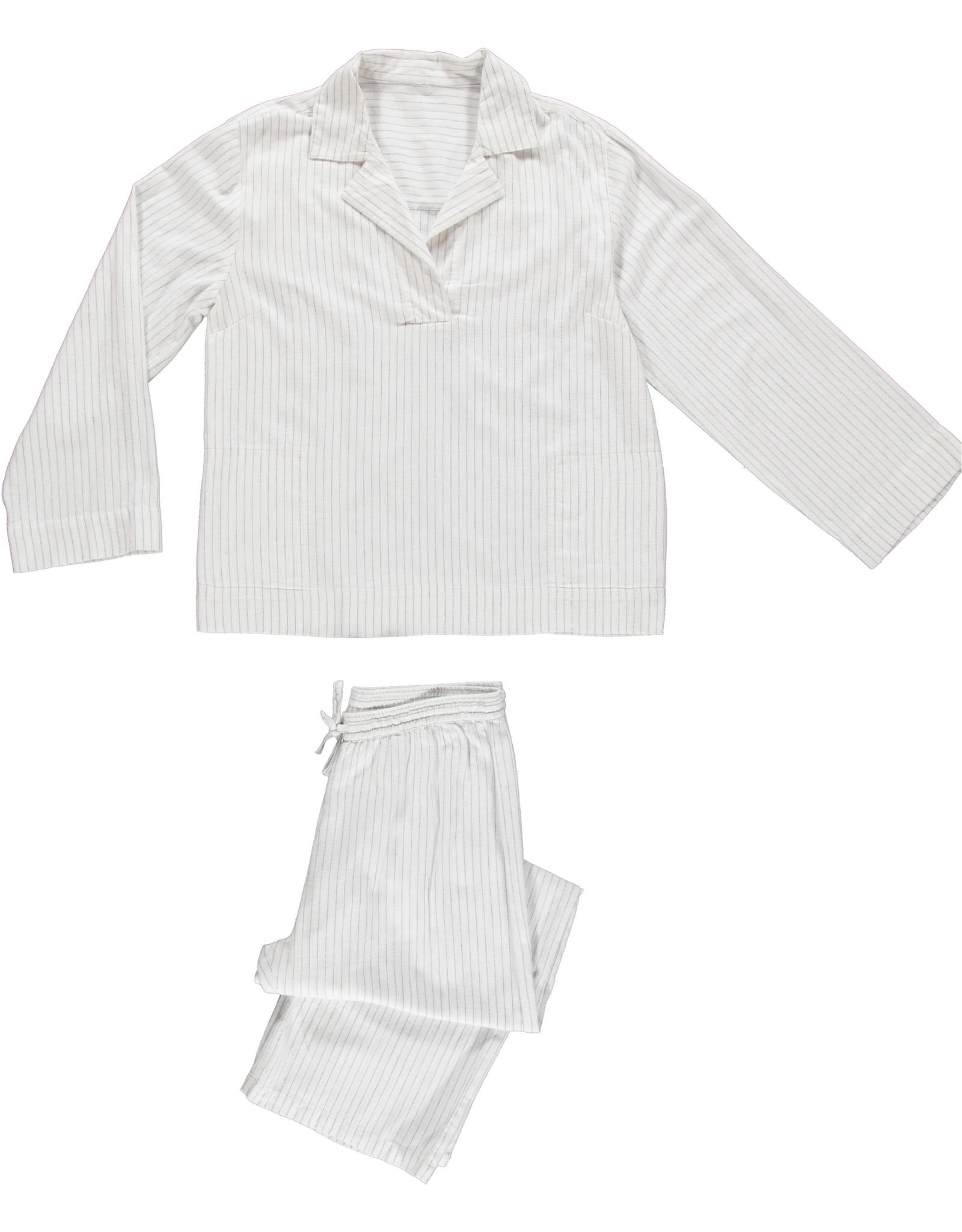 Dorélit Femia + Alkes | Pajama Set Woven | Pin Stripe