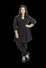 Lovely Dress Tuniek Annabel  Noir