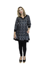 Lovely Dress Tuniek Adele dessin Snake
