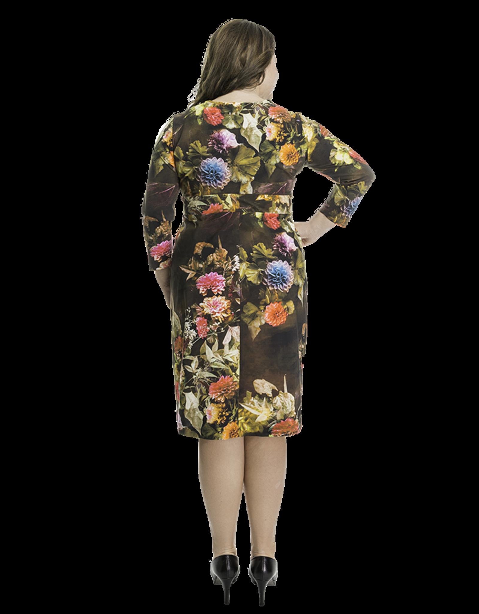 Lovely Dress Jurk Sophie dessin Vintage Rose