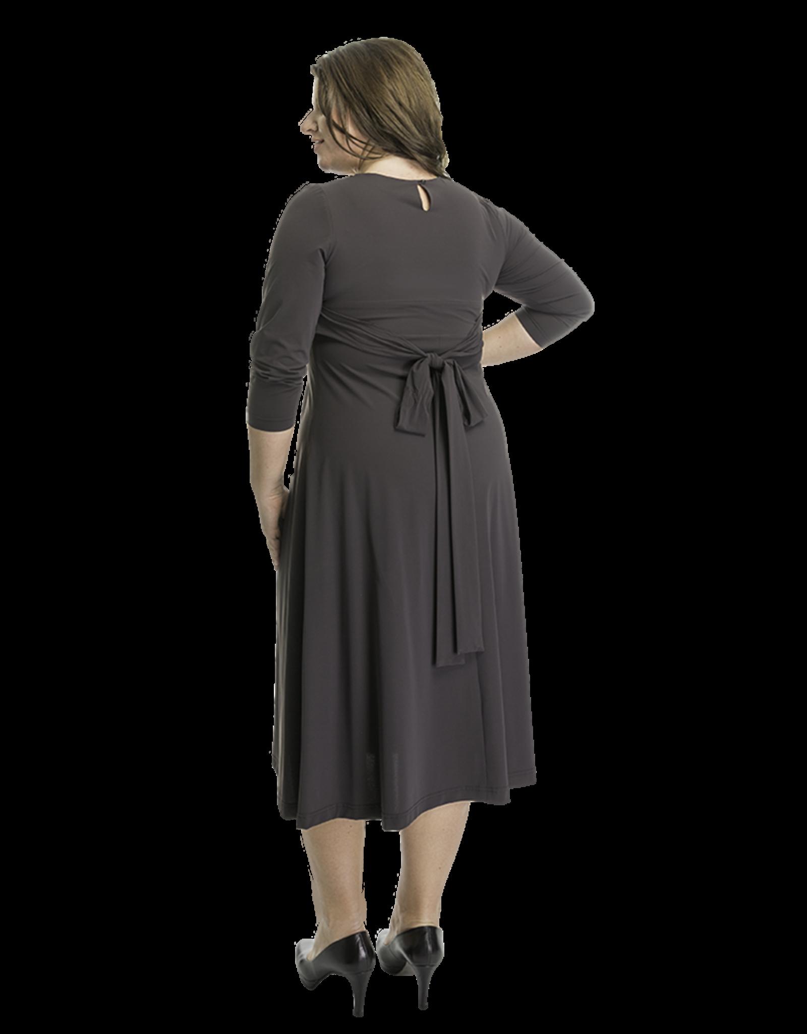 Lovely Dress Jurk Silvia New Antracite