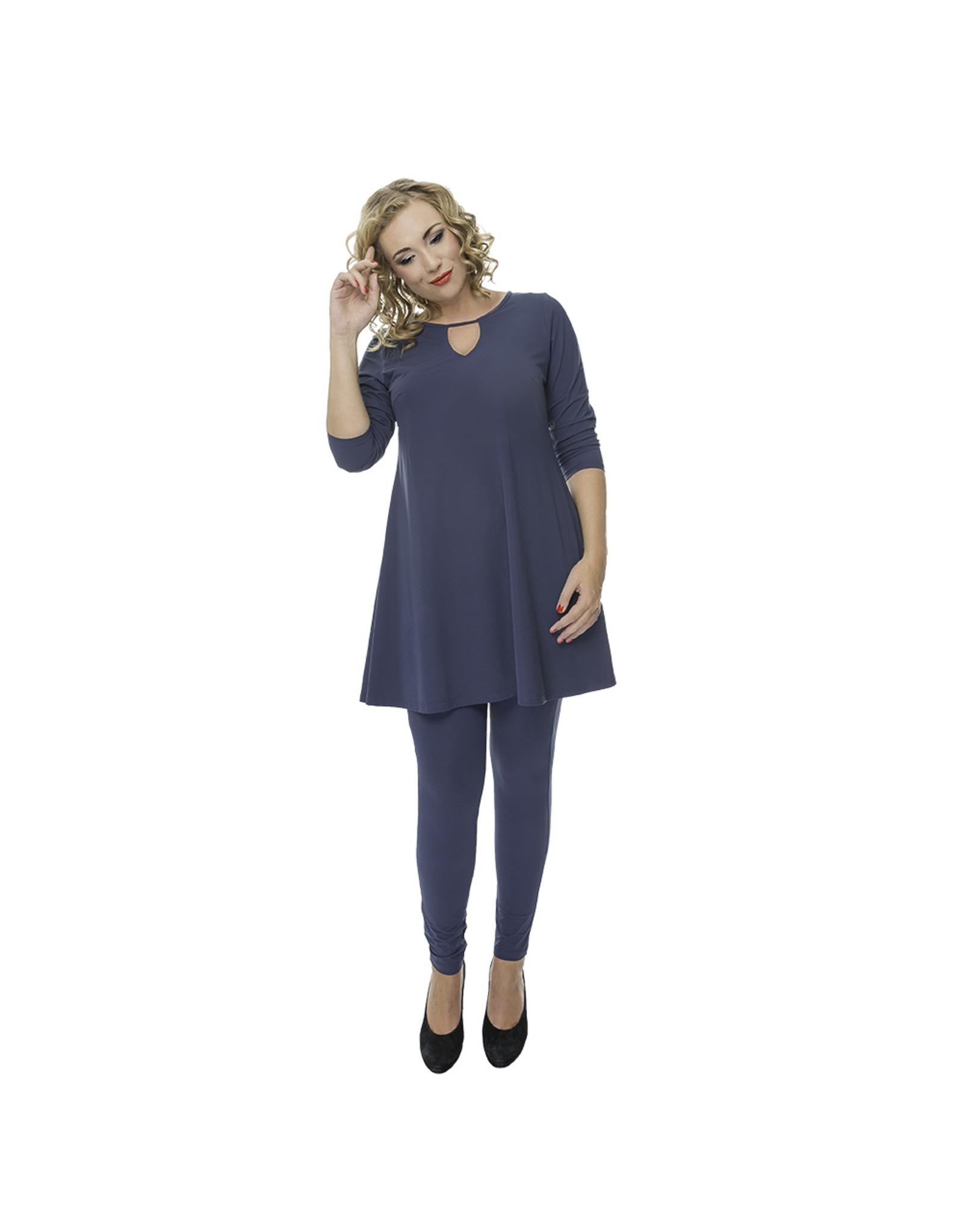 Lovely Dress Tuniek Annabel  Blue Delave