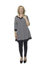 Lovely Dress Tuniek Adele dessin Dot Noir