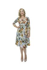 Lovely Dress Jurk Simone dessin Flower Lelie
