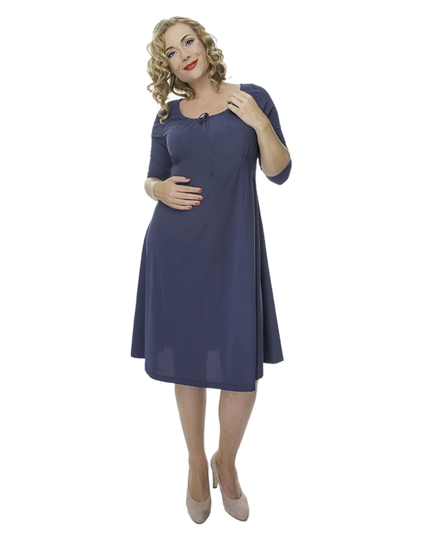 Lovely Dress Jurk Simone Blue Delave