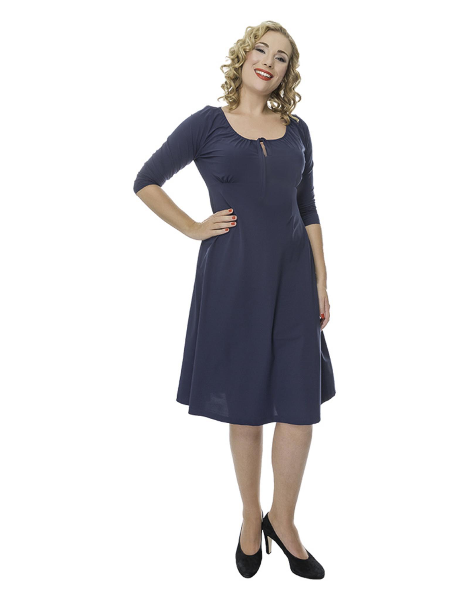 Lovely Dress Jurk Simone Blue Denim