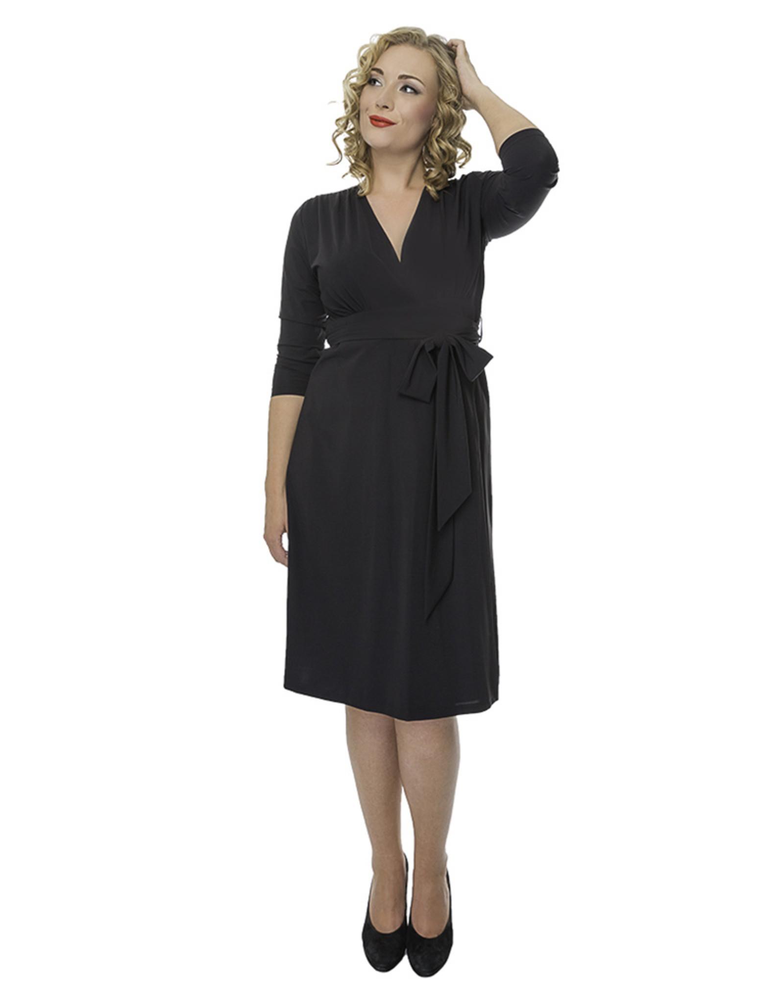 Lovely Dress Jurk Sandra Noir