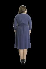 Lovely Dress Jurk Sandra Blue Delave