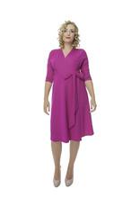 Lovely Dress Jurk Sandra Ciclamino