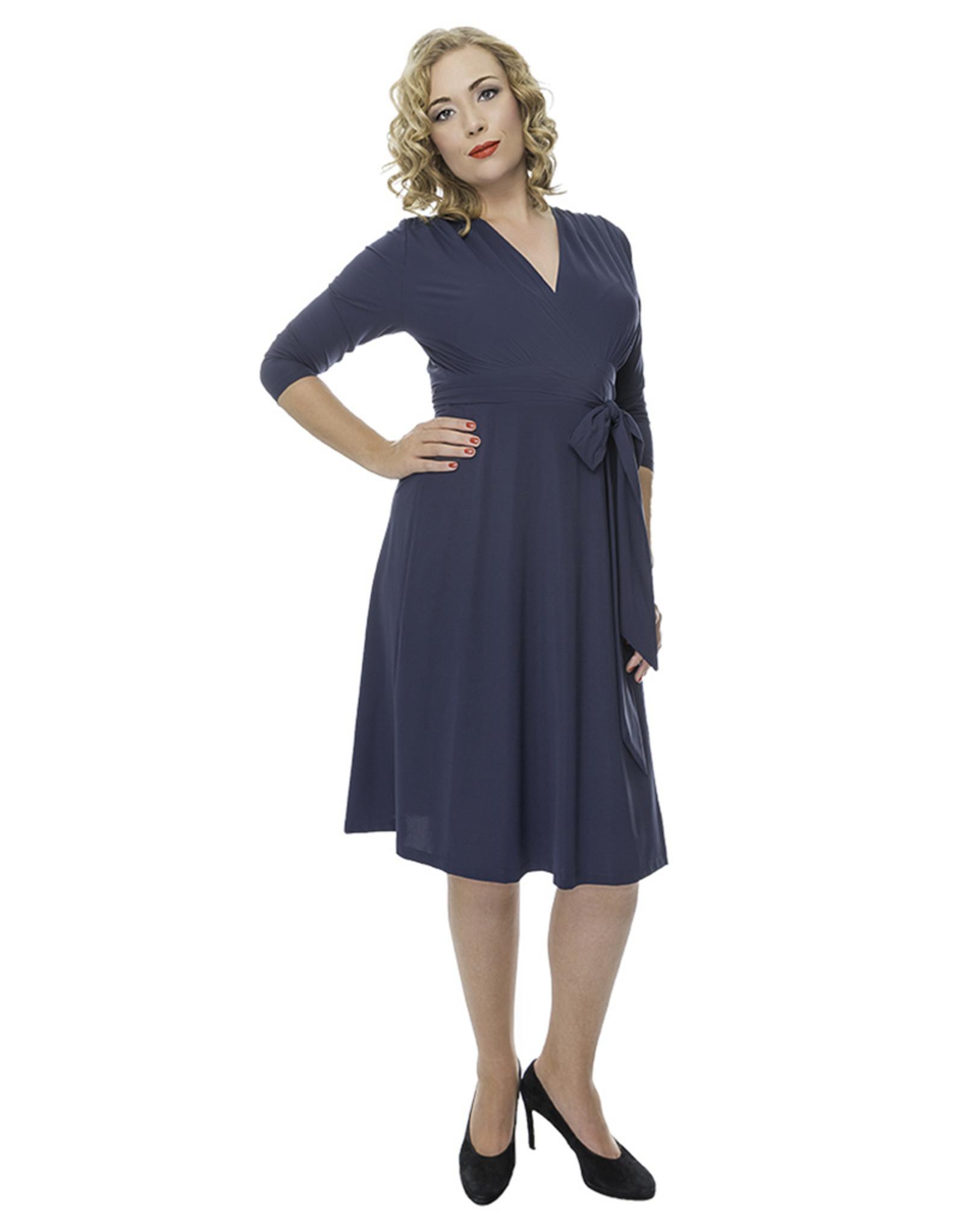 Lovely Dress Jurk Sandra Blue Denim