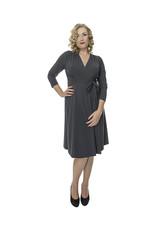 Lovely Dress Jurk Sandra Grigio Scuro