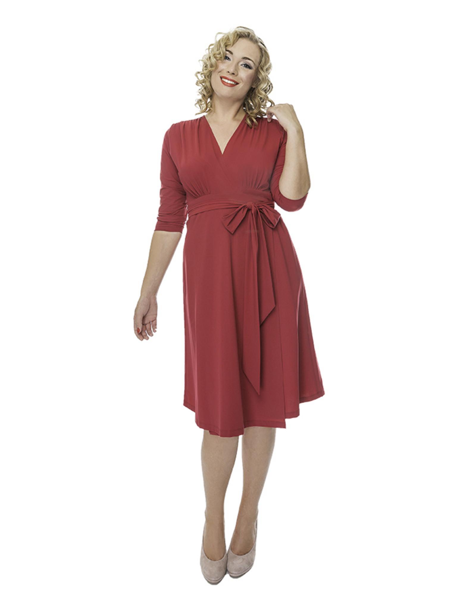 Lovely Dress Jurk Sandra Rosso Masai