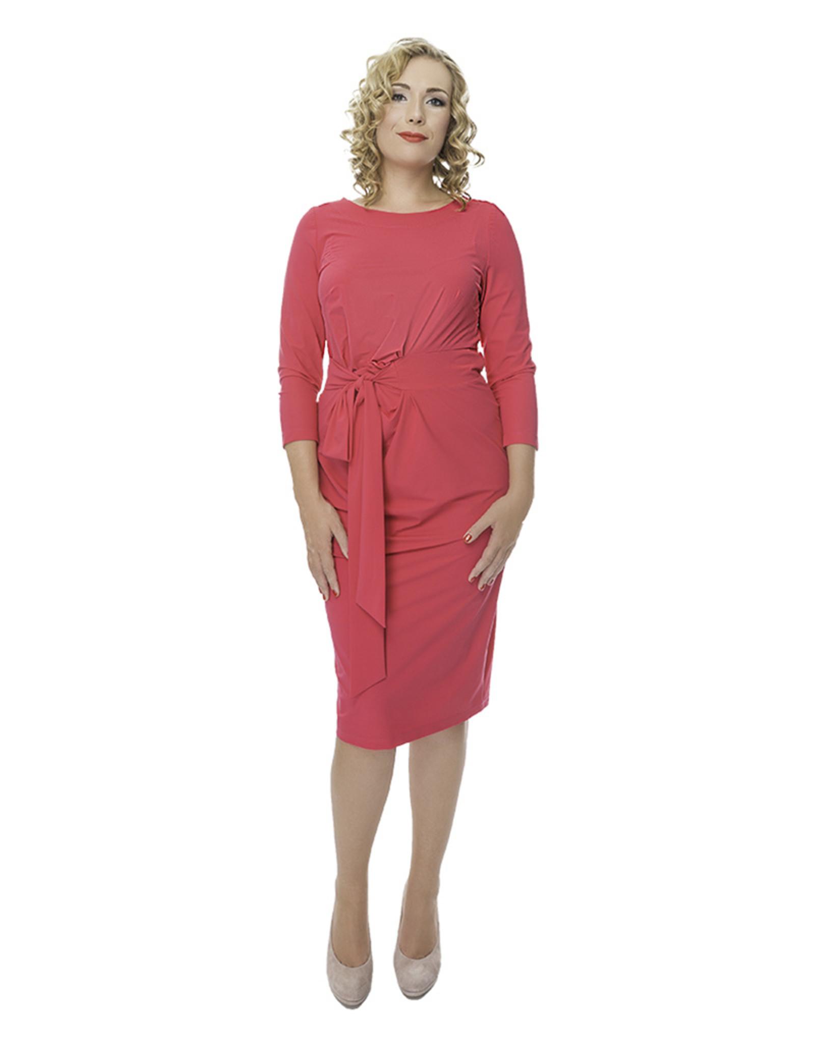 Lovely Dress Jurk Helen Barry Pink