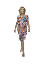 Lovely Dress Jurk Helen dessin Flower Rose