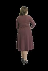 Lovely Dress Jurk Simone Rosso Vino