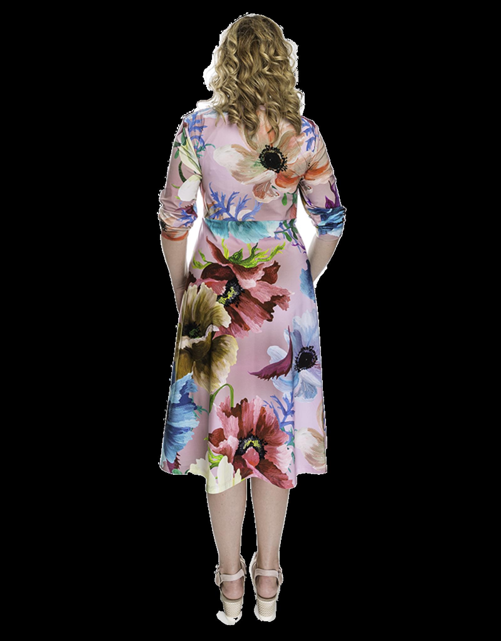 Lovely Dress Jurk Saskia dessin Flower