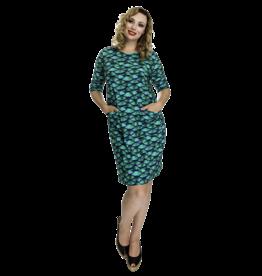 Lovely Dress Hanny multifest Green