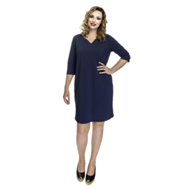 Lovely Dress Hetty Blue Marine