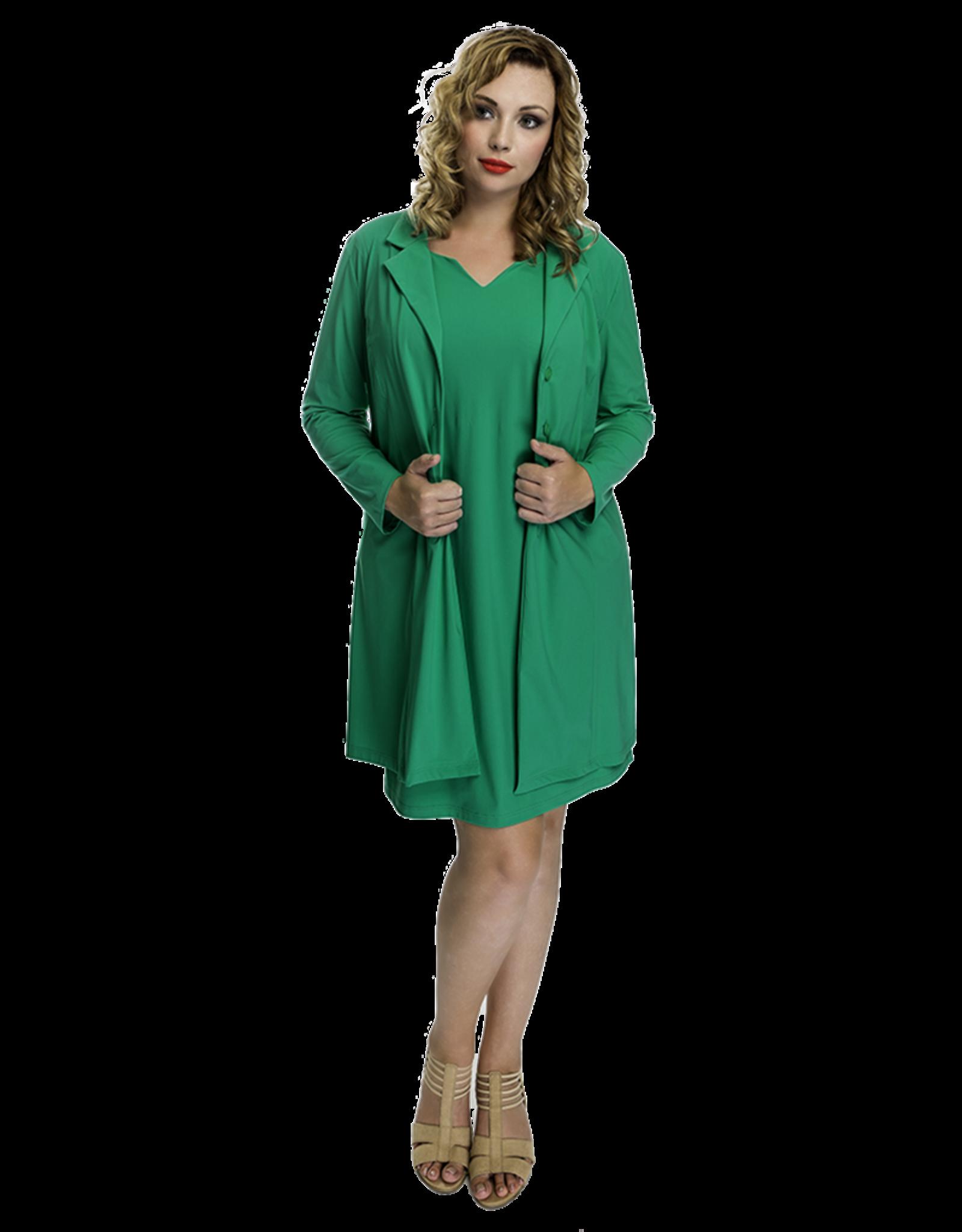 Lovely Dress Blazer Betty Green