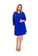 Lovely Dress Blazer Betty Kobalt