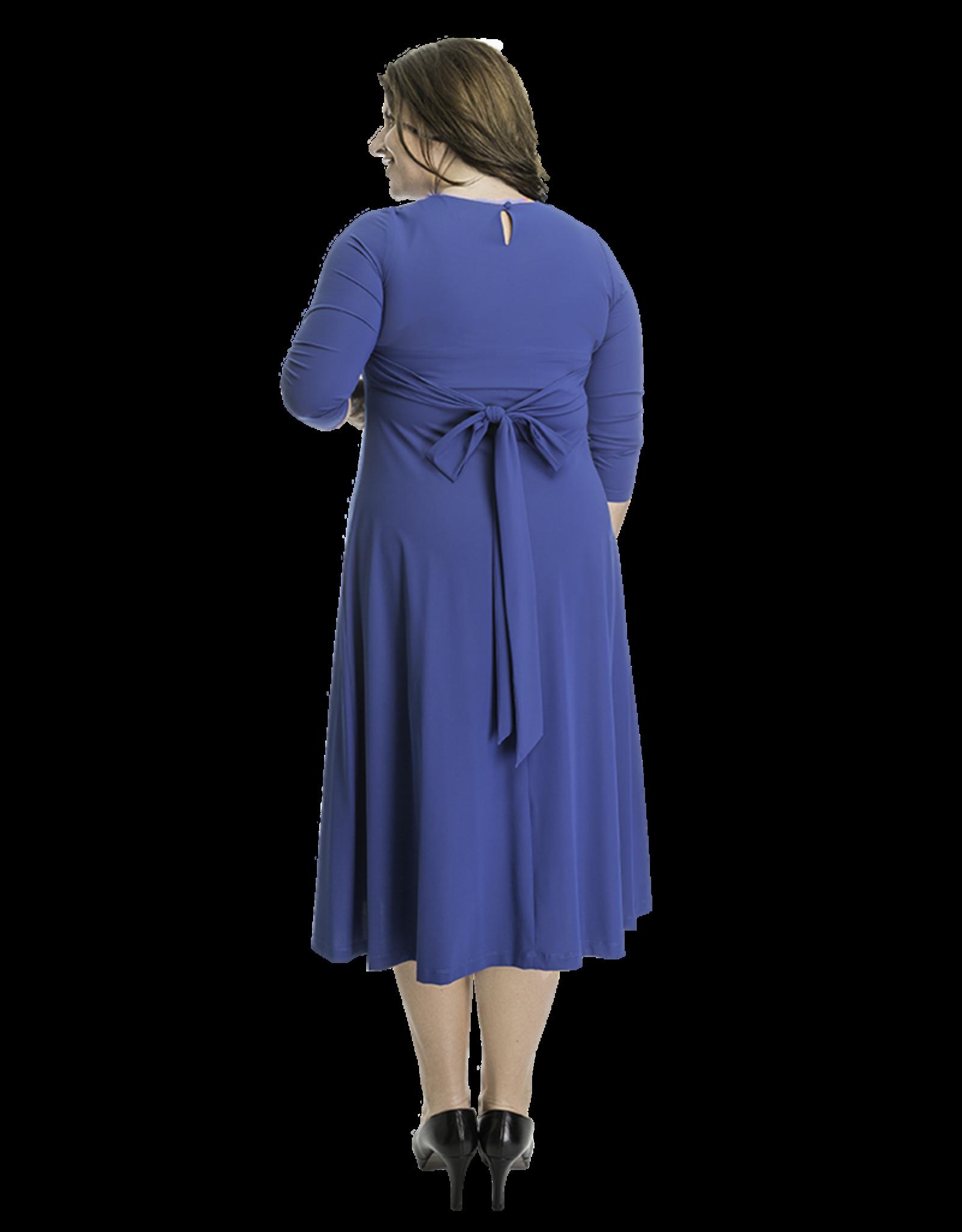 Lovely Dress Jurk Silvia Mineral Blue