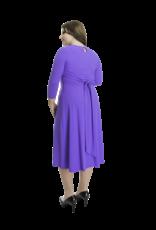Lovely Dress Jurk Silvia Violet