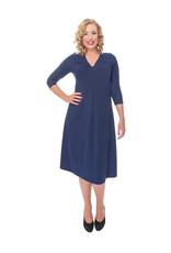 Lovely Dress Jurk Silvia Blue Marine