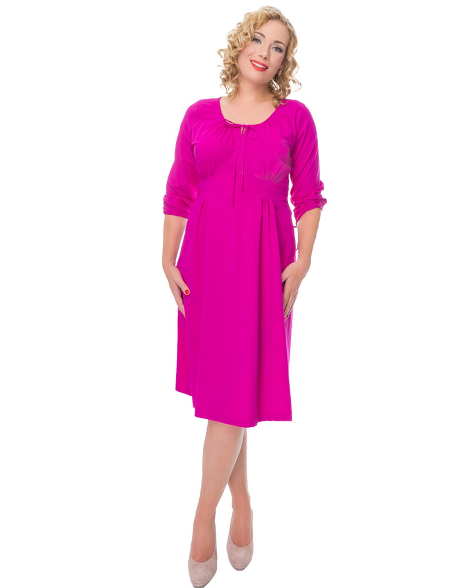 Lovely Dress Jurk Sonja Cyclamo