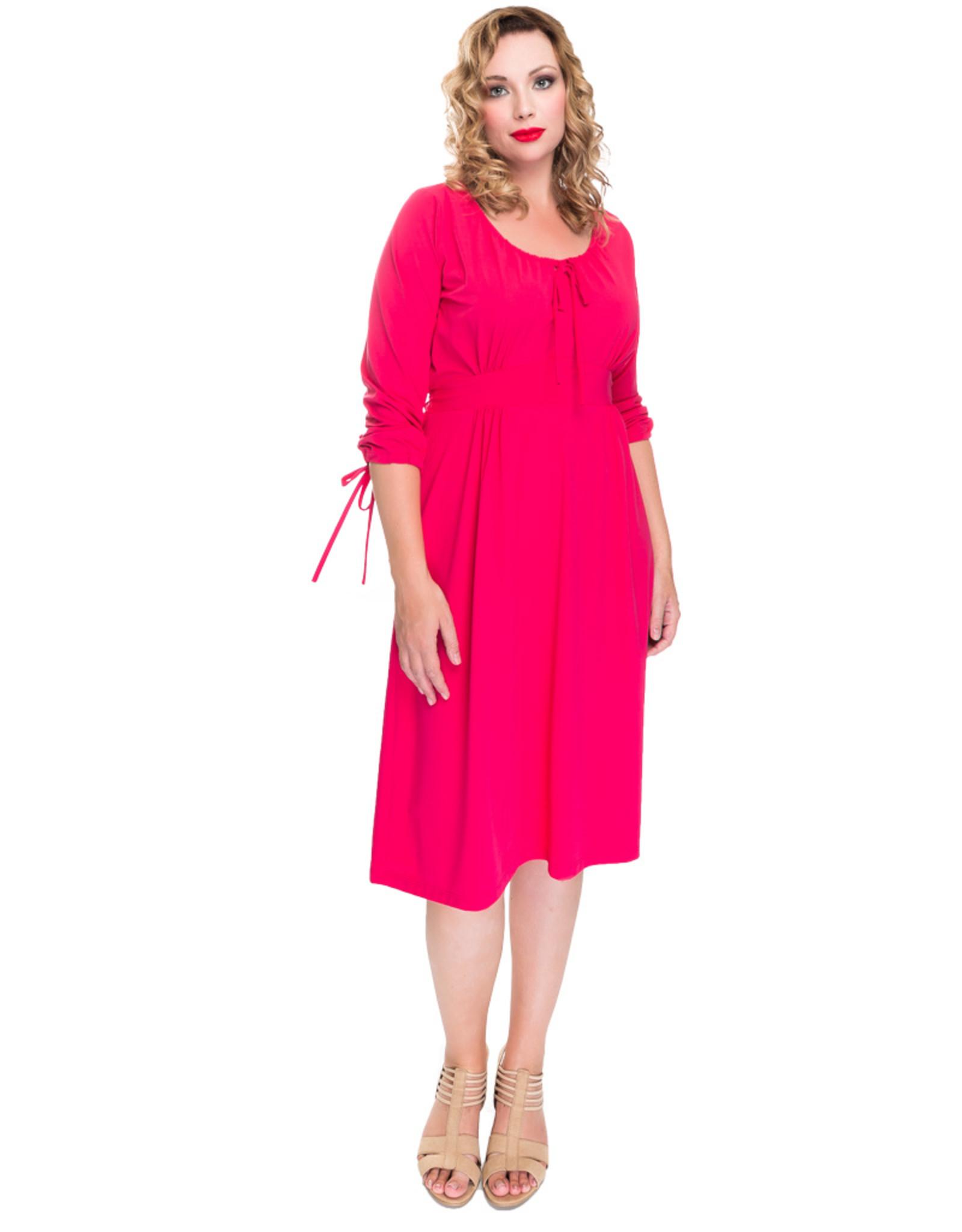 Lovely Dress Jurk Sonja Barry Pink