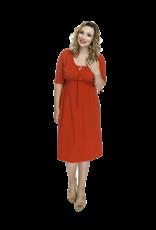 Lovely Dress Jurk Sonja Rosso