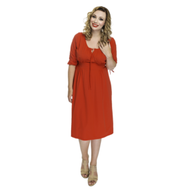 Lovely Dress Sonja Rosso